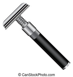 Razor - Vintage razor classic look for cosmetic purposes...