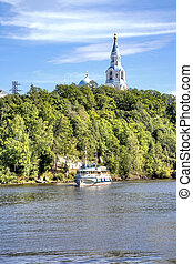Valaam Island - View of the coast of the island of Valaam...