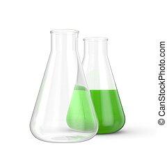 Laboratory equipment - laboratory equipment Isolated on...