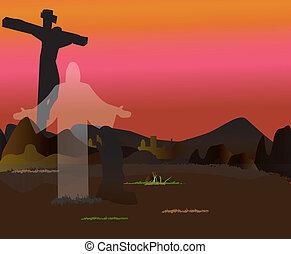 Christian easter, resurrection