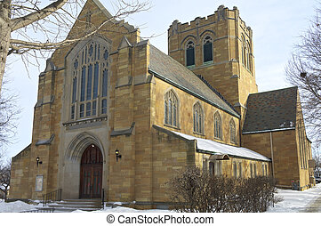 Historic Church of West Side Saint Paul - Neo gothic style...