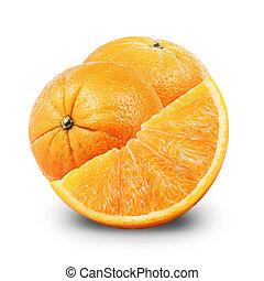 オレンジ, フルーツ