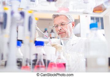 vida, científico, Investigar, laboratorio
