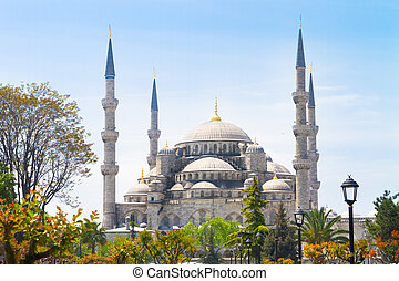 Blue Sultan Ahmed Mosque, Istanbul, Turkey - The Sultan...