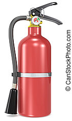 Fire Extinguisher - Classic red Fire Extinguisher