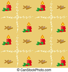 Brown Xmas Pattern