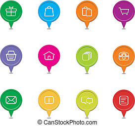 colorful ecommerce pointers