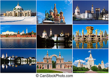 Moscow - Collection of beautiful photos in Moscow, Russia