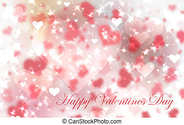 Red valentine's day background with