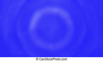 Soft Blue and White Circles Loop