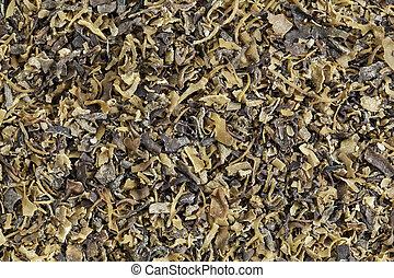 Irish moss seaweed - Background of dried Irish moss seaweed...