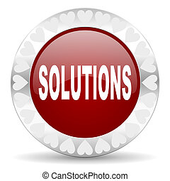 solutions valentines day icon