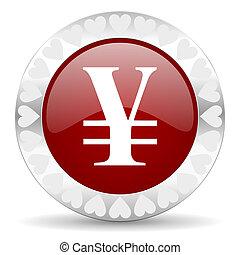 yen valentines day icon