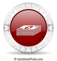 money valentines day icon