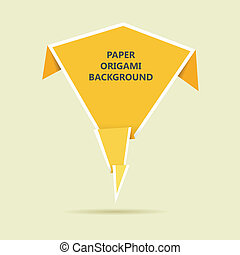 Paper Origami Background