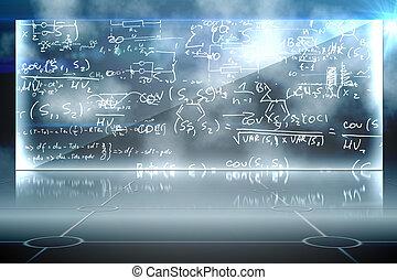 matemática, equação, fundo