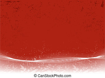 Abstract Red Page