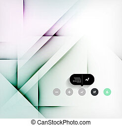 Shadow lines abstract design for infographics | business...