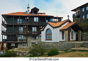 Church Of St. Ivan Rilski In Sozopol. Bulgaria.