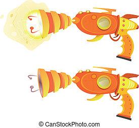 Space Laser Ray Gun