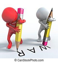matita, guerra