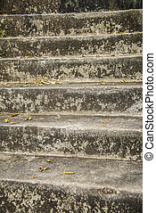 Stone stair pattern