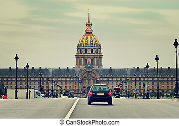 Les Invalides Paris, France - Les Invalides complex contains...