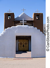 Taos pueblo church - Historical catholic church in Taos...