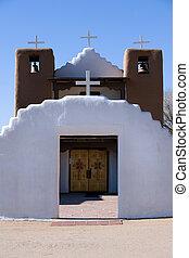 Taos pueblo church - Historical catholic church in Taos...