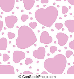 seamless pattern from hearts
