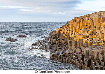 Giants Causeway, Northern Ireland - Giants Causeway in...