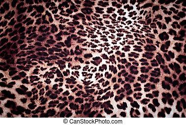 leopard texture in brown tones