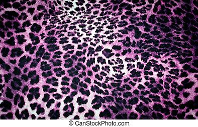 leopard texture in purple tones