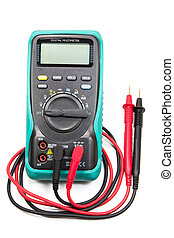 Electrical Multimeter - digital multimeter for determining...