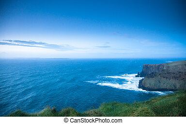 Cliffs of Moher in Co. Clare, Ireland Europe - Famous cliffs...