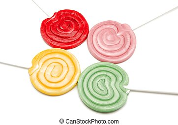 lollipops - Colorful candy lollipops