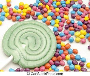 lollipops - Sprinkles candy lollipops