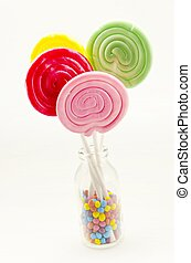 lollipops - Sprinkles candy lollipops