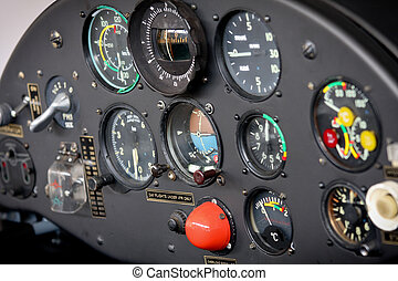 Airplane Standard Flight Instruments