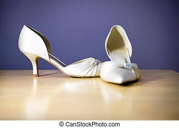 boda, zapatos