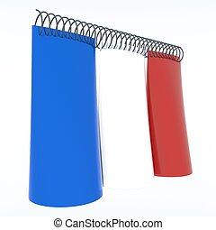 bandiere,  3D