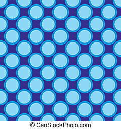Seamless vector blue dots pattern - Seamless vector pattern...