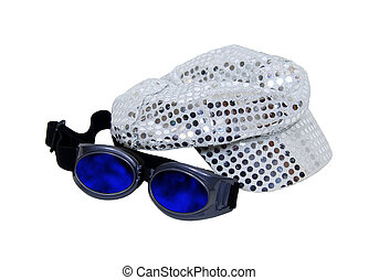 Incognito kit - Cap with reflective pieces of sparkle...