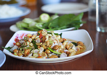 Spicy Herbal Food in Thailand