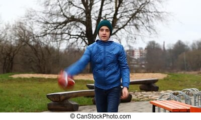 Teen with rugby ball episode 1 - Teen with rugby ball...