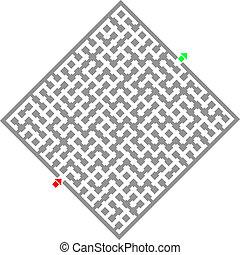 Game maze - Creative design of game maze