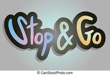Stop and go - Creative design of stop and go