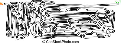Rare maze - Creative design of rare maze