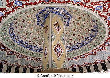Dome of turkish fountain inside, Turkey