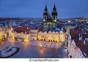 Prague - Image of Prague, capital city of Czech Republic,...
